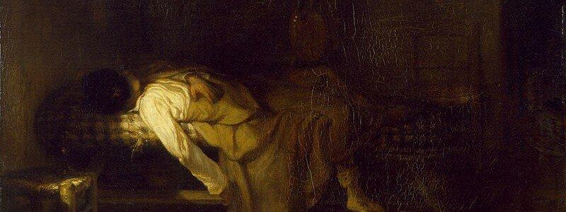 Alexandre-Gabriel Decamps - The Suicide - Walters